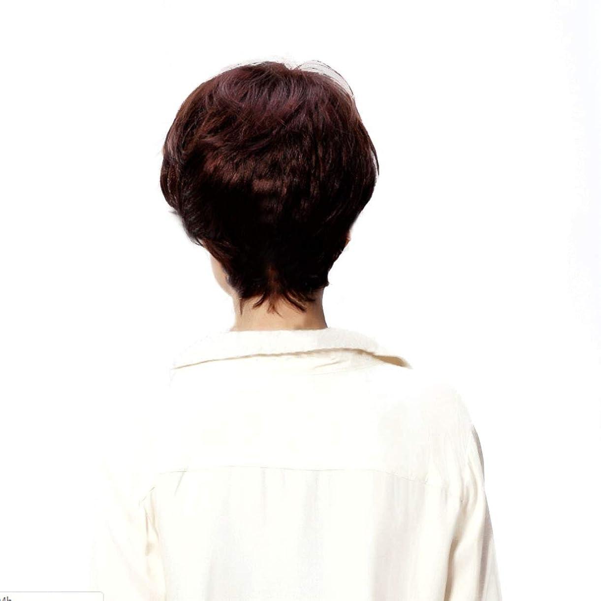 勧告メロドラマなすYrattary 10インチ/ 12インチ短波ゴールドかつら女性用カーリー耐熱かつら平らかつら毛髪用白人女性180 gファッションかつら (サイズ : 12inch)