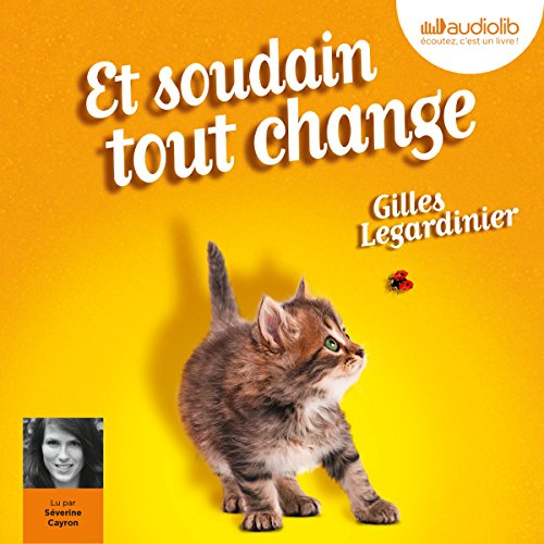 Et soudain tout change audiobook cover art