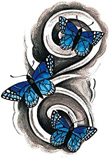 Tatuaje temporal a prueba de agua pegatina sexy ángel caído tatuaje palo cuerpo brazo arte figura tatuaje pegatina 10 piezas