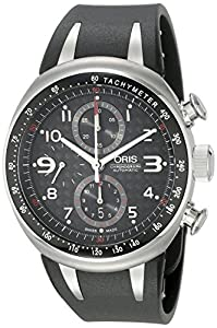 Oris Men's 67475877264RS TT3 Black Chronograph Dial Watch Review and Order Now!! and review