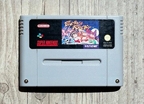Pocky & Rocky Super Nintendo
