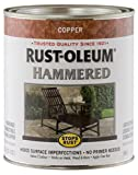 Rust-Oleum 239074 Hammered Metal Finish, Copper, 1-Quart (Packaging may vary)