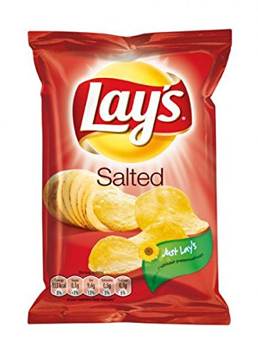 Lays Chips Salted 80 x 27,5g