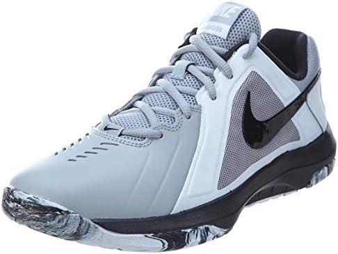 Nike Mens Air Mavin Low Basketball Shoe Wolf Grey Black 8 D M US product image