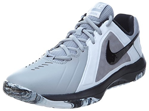 New Nike Mens Air Mavin Low Basketball Shoe Wolf Grey/Black 11
