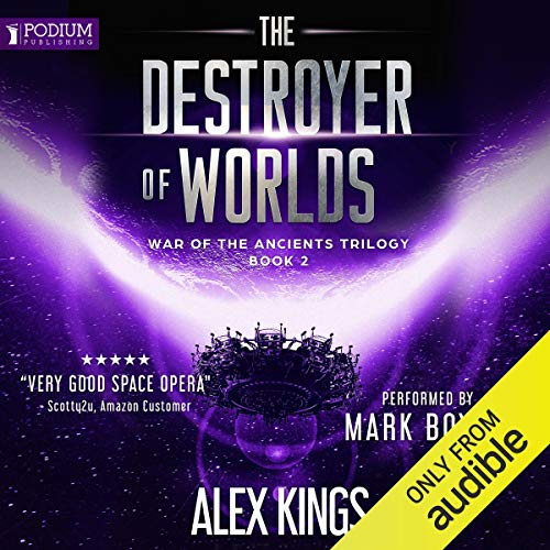 The Destroyer of Worlds audiobook cover art