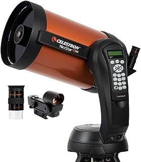 Celestron NexStar 8 SE (11069) - Telescopio con trípode, Color Naranja y Negro [Importado]