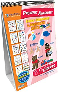 NewPath Learning Phonemic Awareness Curriculum Mastery Flip Chart Set, Early Childhood
