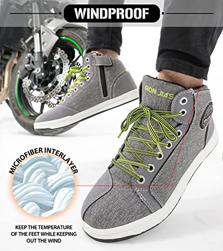 Iron Jia's Casual Motorcycle Shoes