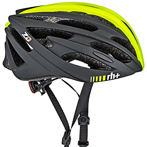 RH+ Casco Bike Z Zero Yellow Fluo-Matt Black XS/M Unisex Adulto