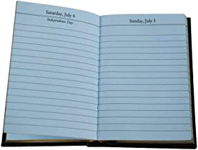 Charing Cross 2020 D142L Crossgrain Leather Diary Day Per Page 4