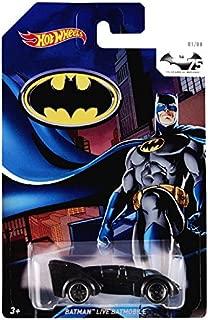 Hot Wheels Batman 75th Anniversary - Batman Live Batmobile (1.64 Scale Size) by Hot Wheels