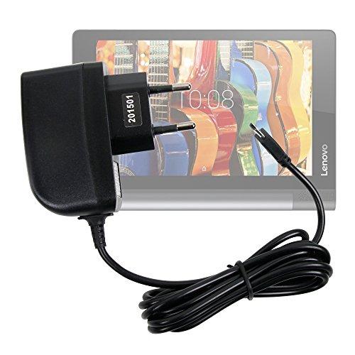 Duragadget - Cargador de pared para Lenovo Yoga Tab 3 8 (8'), Tab 3 10 y Pro 10 tablets de 10.1' - Carga rápida 2 A y puerto Micro USB
