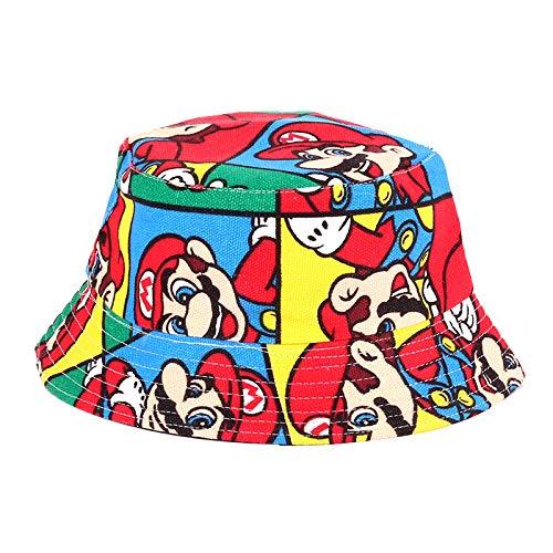 Sombrero de Super Mario Hip Hop Gorro de bebé primavera, otoño e invierno 1 niña bebé niña 2 princesa linda niña 3 sección delgada masculina 4 años marea versión coreana de salvaje
