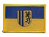 Flaggen Aufnäher Deutschland Stadt Chemnitz Fahne Patch +