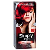 2 x Simply Bright Red Alert High Colour Permanent Hair Dye