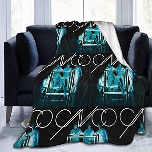 AORSTAR Warm Microfiber Bed Blanket Cnco Logo Flannel Fleece Soft Throw Blanket for Sofa Living Room Bedroom 60'X50'