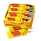 Sugar Daddies Milk Caramel Pops 24-Count of 1.7 Oz. Pops