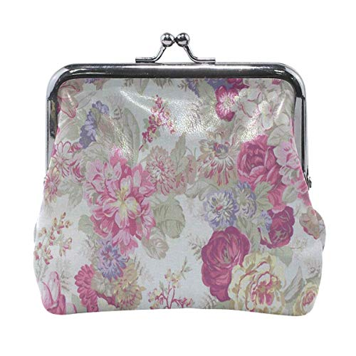 Muster Kiss-Lock Flower Referenzen auf Pinterest Cute Coin Purse Wallet Portable Clutch Bag