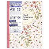 フロンティア ノート 基礎体温 A5 ジャバラ CHO-049