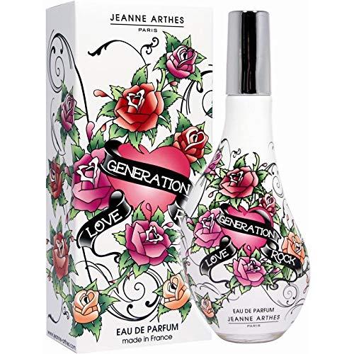 Jeanne Arthes - Love Generation Eau De Parfum Rock 60Ml - Lot De 3 - Prix Du Lot - Livraison Rapide En France Métropolitaine Sous 3 Jours Ouverts