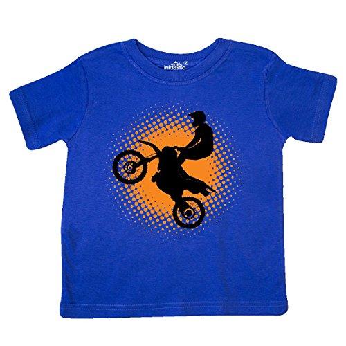 inktastic Motocross Rider Freestyle Sports Toddler T-Shirt 5-6 Royal Blue 2de3f