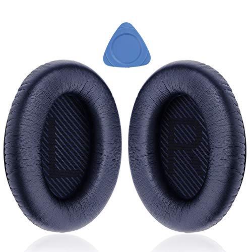 YOCOWOCO Cushions Bose QC35 QC35 II oordopjes vervangen – oordopjes voor Bose QuietComfort 35 I/II Over-Ear Koptelefoon, Blauw