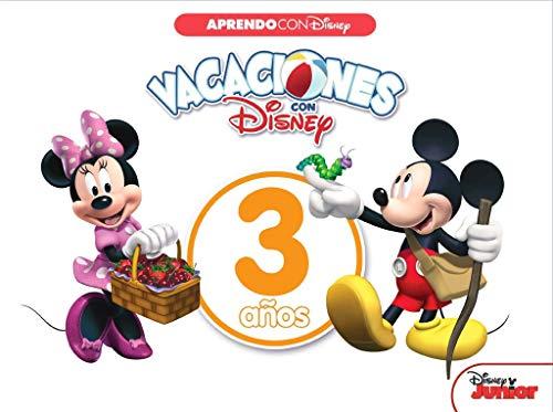 Vacaciones con Disney. 3 años (Aprendo con Disney)