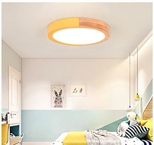 5151BuyWorld Lamp Macarons, modern, rond, sober, mooi, kleurrijk, voor kinderkamer, slaapkamer, plafondlamp, LED, gemonteerd, hoogwaardige kwaliteit