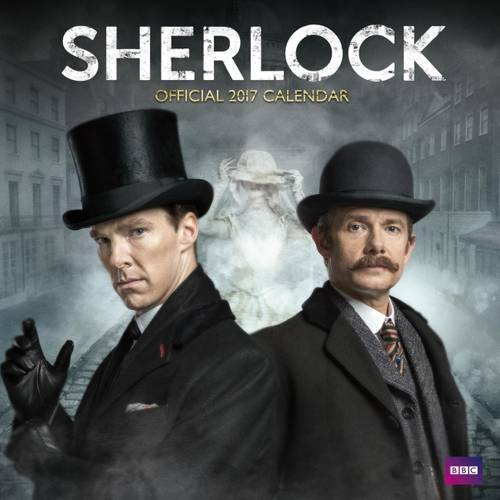 Sherlock - Official 2017 Square Calendar