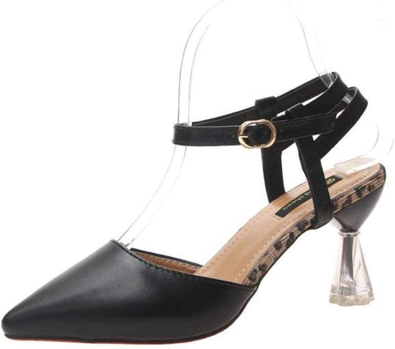 Women's Ladies Casual Lightweight Sandal shoes MidHeel Summer Beach Close Toe Wine Glass with Slim Pu Sandal Flip Flops for Women, LX