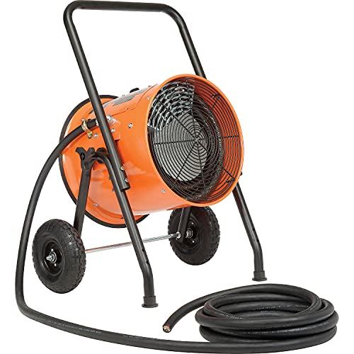 Portable Electric Salamander Heater, 208V 15 KW 3...