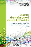 Manuel d'enseignement en psychomotricité