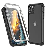 SPIDERCASE iPhone 11 Pro Max Case with Front Build-in