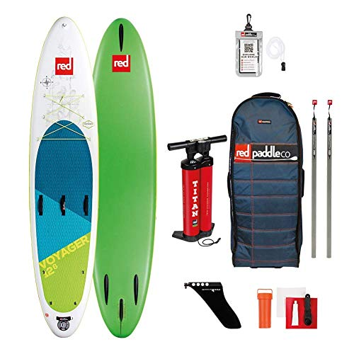 Red Paddle Co 12'6' Voyager Inflatable Stand Up Paddleboard...
