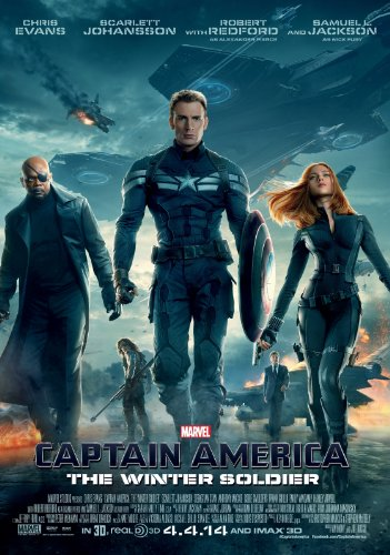 CAPTAIN AMERICA THE WINTER SOLDIER MOVIE POSTER PRINT APPROX SIZE 12X8 INCHES by 12X8 INCHES