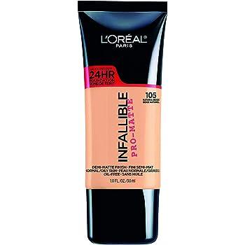 L'Oreal Paris Base de maquillaje Infallible Matte