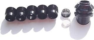 MILAEM Archery 45 Degree Hooded Peep Sight Compound Bow Peep Sight Housing Clarifier Aperture Lens Inner Core Kits