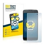 BROTECT Schutzfolie kompatibel mit Alcatel One Touch Idol 3 (4.7) (2 Stück) klare Bildschirmschutz-Folie