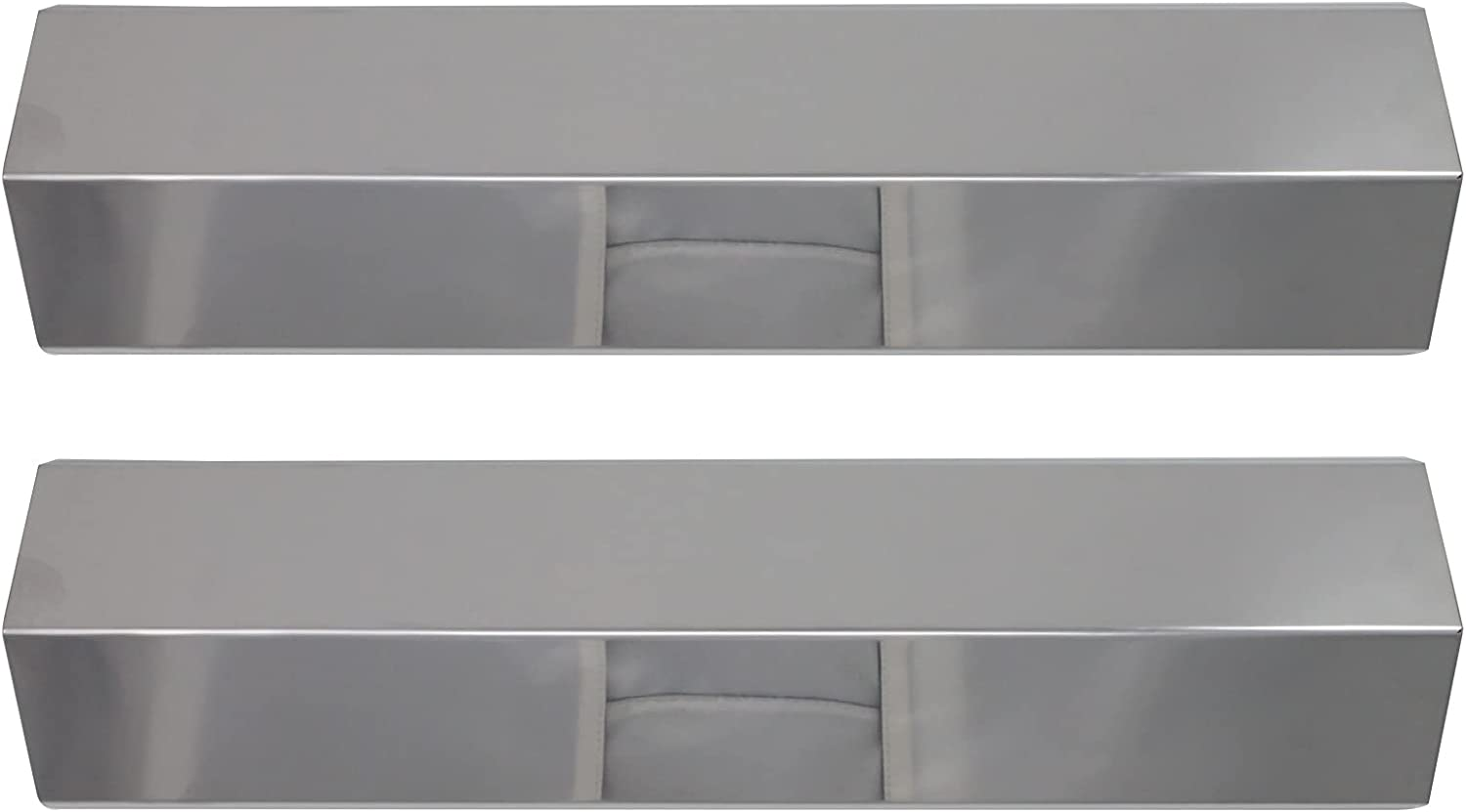 2-Pack Sales Jacksonville Mall of SALE items from new works BBQ Grill Heat Shield Plate for Un Tent Parts Replacement