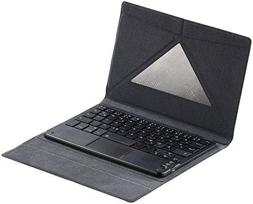 """GeneralKeys Zubehör zu Smartphone Tastatur: Tastatur-Schutzcover mit Bluetooth & Touchpad für 8\""""-Tablets&iPad Mini (Tastatur Android, Bluetooth)"""