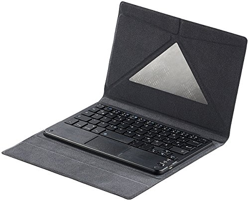 GeneralKeys Zubehör zu Smartphone Tastatur: Tastatur-Schutzcover mit Bluetooth & Touchpad für 8