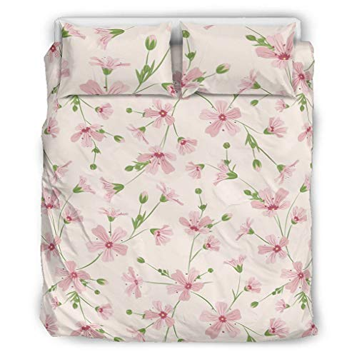 Rcerirt Plant Flower Bed Accessories Cosy Premium Quality Easy Fit for Home, Polyester, White, 264x229cm