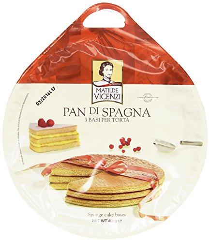 Matilde Vincenzi - Pan di Spagna, 3 Basi per Torta - 400 g