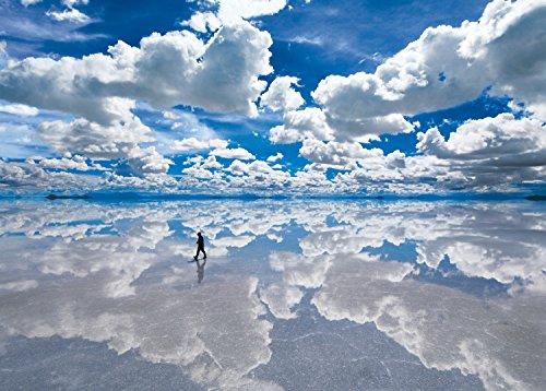 2000ピース ジグソーパズル ウユニ塩湖―ボリビア 世界最小スーパースモールピース(38x53cm)