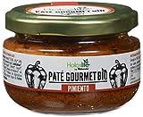 Holoslife Pate Gourmet con Pimiento - 8 Paquetes de 110 gr - Total: 880 gr