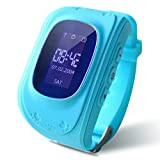 REES52 Kids Smart Watch, Q50 Wrist Watch with Anti-Lost GPS Tracker SOS Call