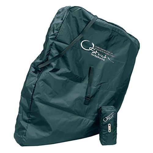 オーストリッチ(OSTRICH) 輪行袋 [ロード520] 輪行袋 ブラック リア用エンド金具付属