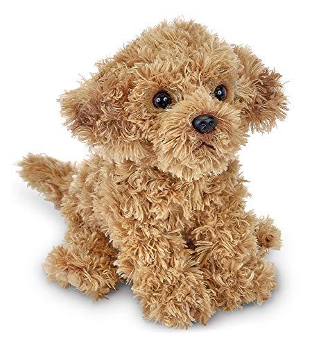 Bearington Doodles Labradoodle Plush Stuffed Animal Puppy Dog, 13 inches