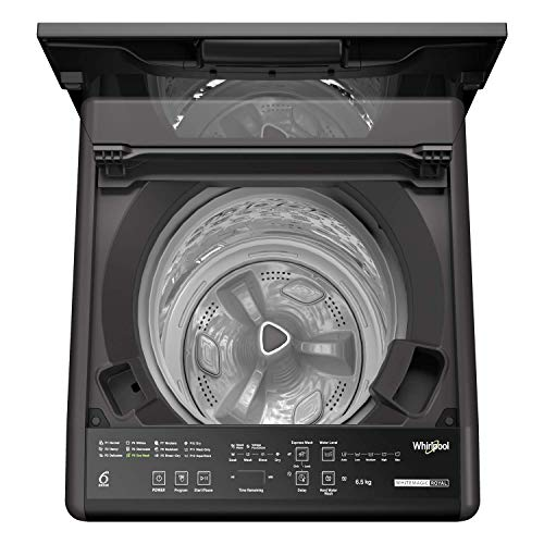 Whirlpool 6.5 Kg 5 Star Fully-Automatic Top Loading Washing Machine (CLS6.5 GRY, Grey)